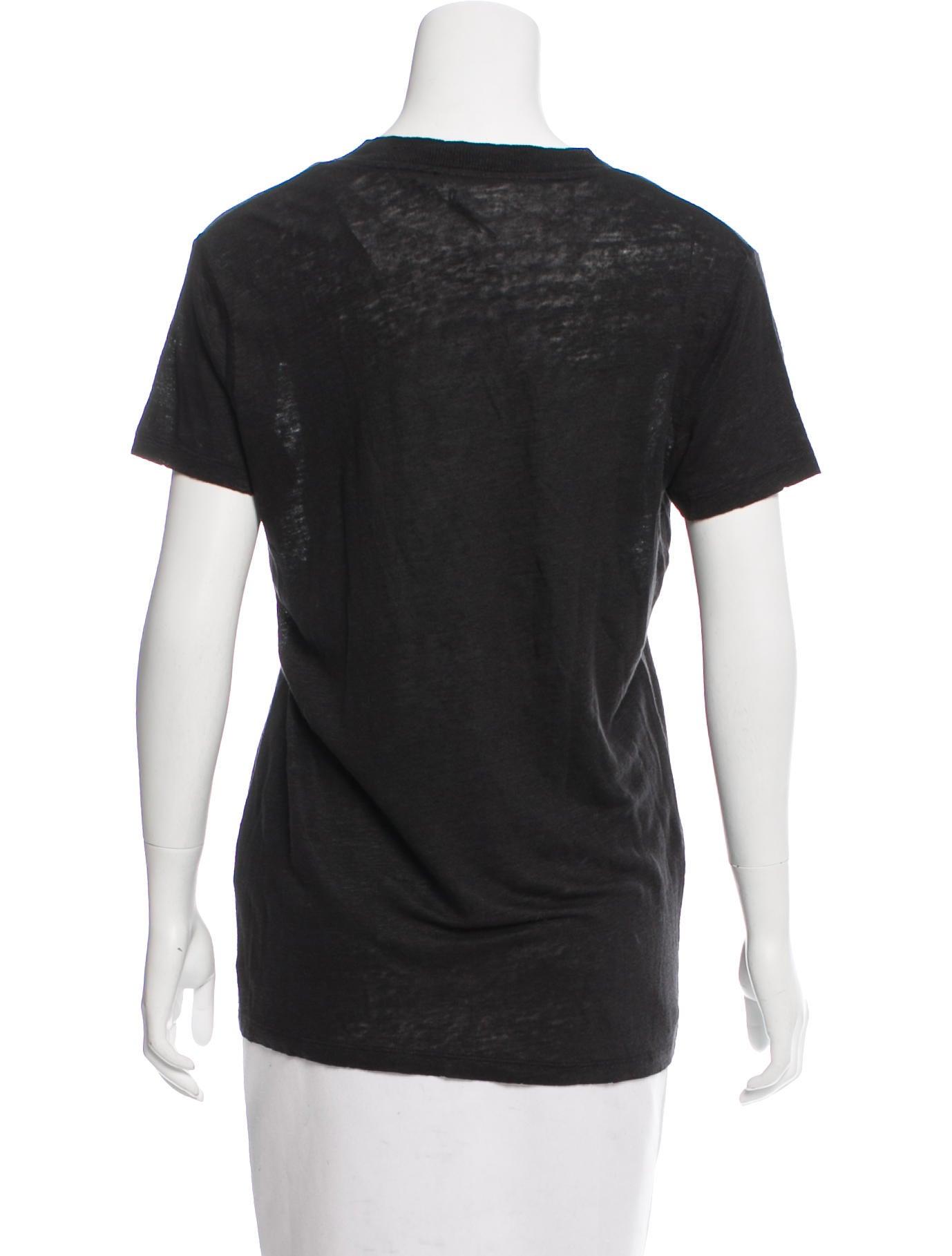 Iro short sleeve linen t shirt w tags clothing for Short sleeve linen shirt