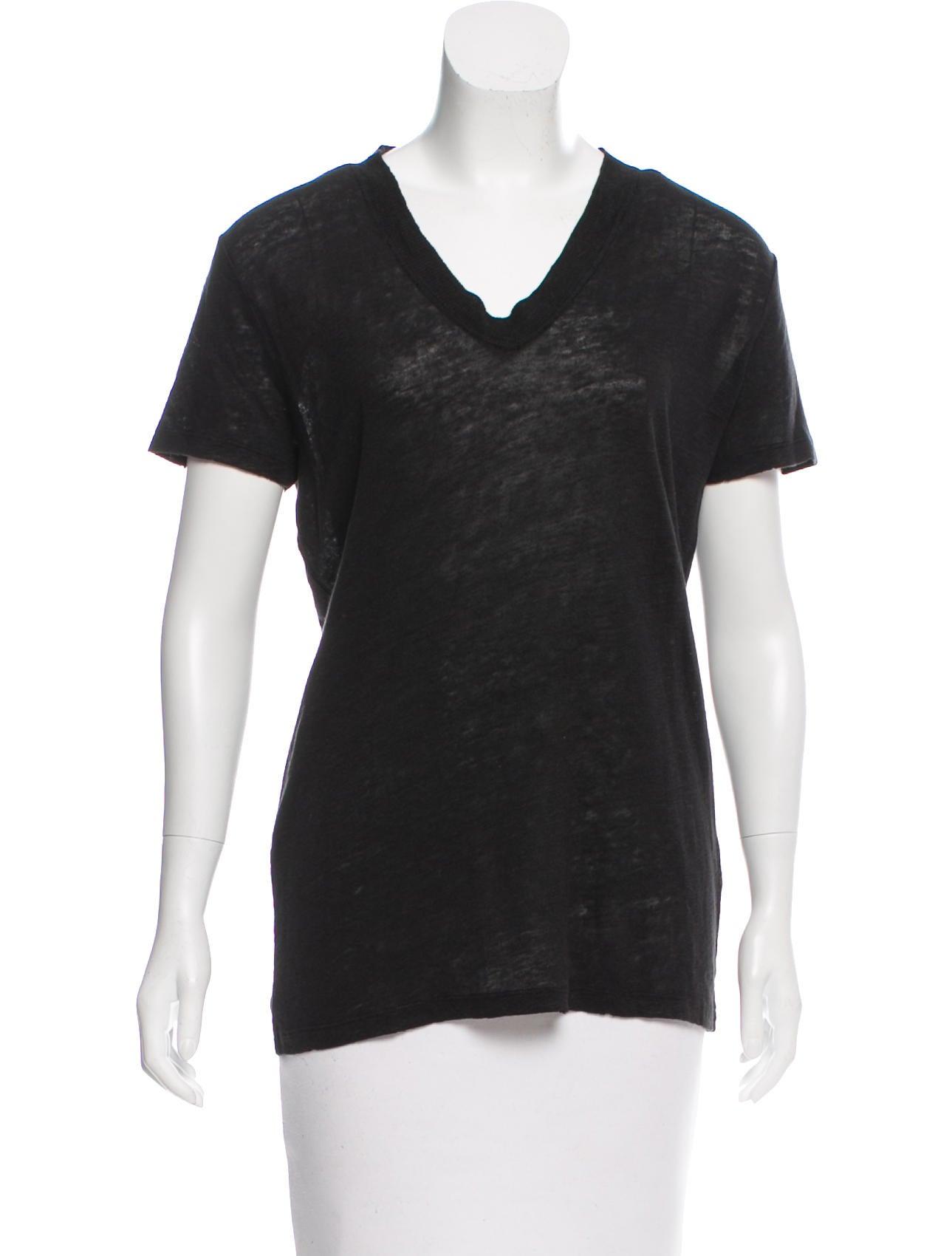 Iro short sleeve linen t shirt clothing wir32092 the for Short sleeve linen shirt
