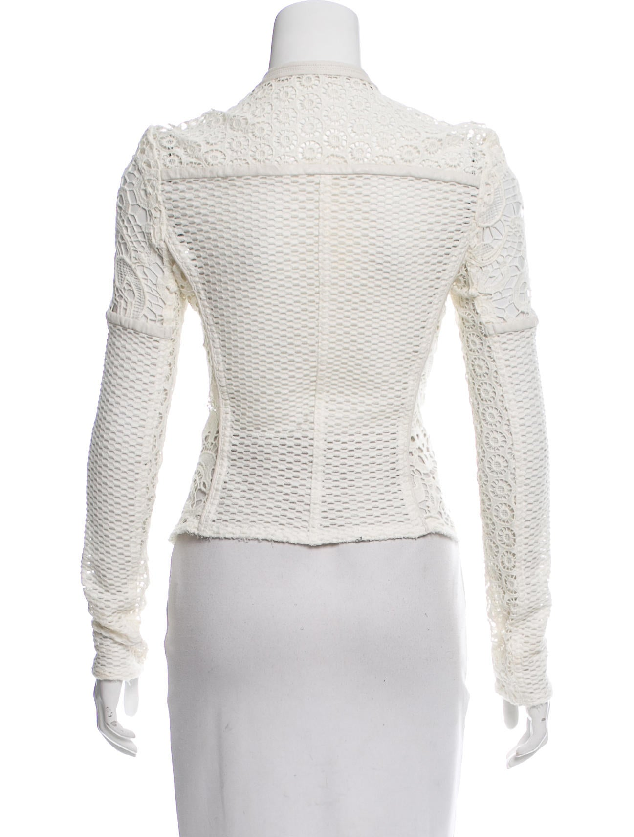 iro lewis guipure lace jacket clothing wir32886 the