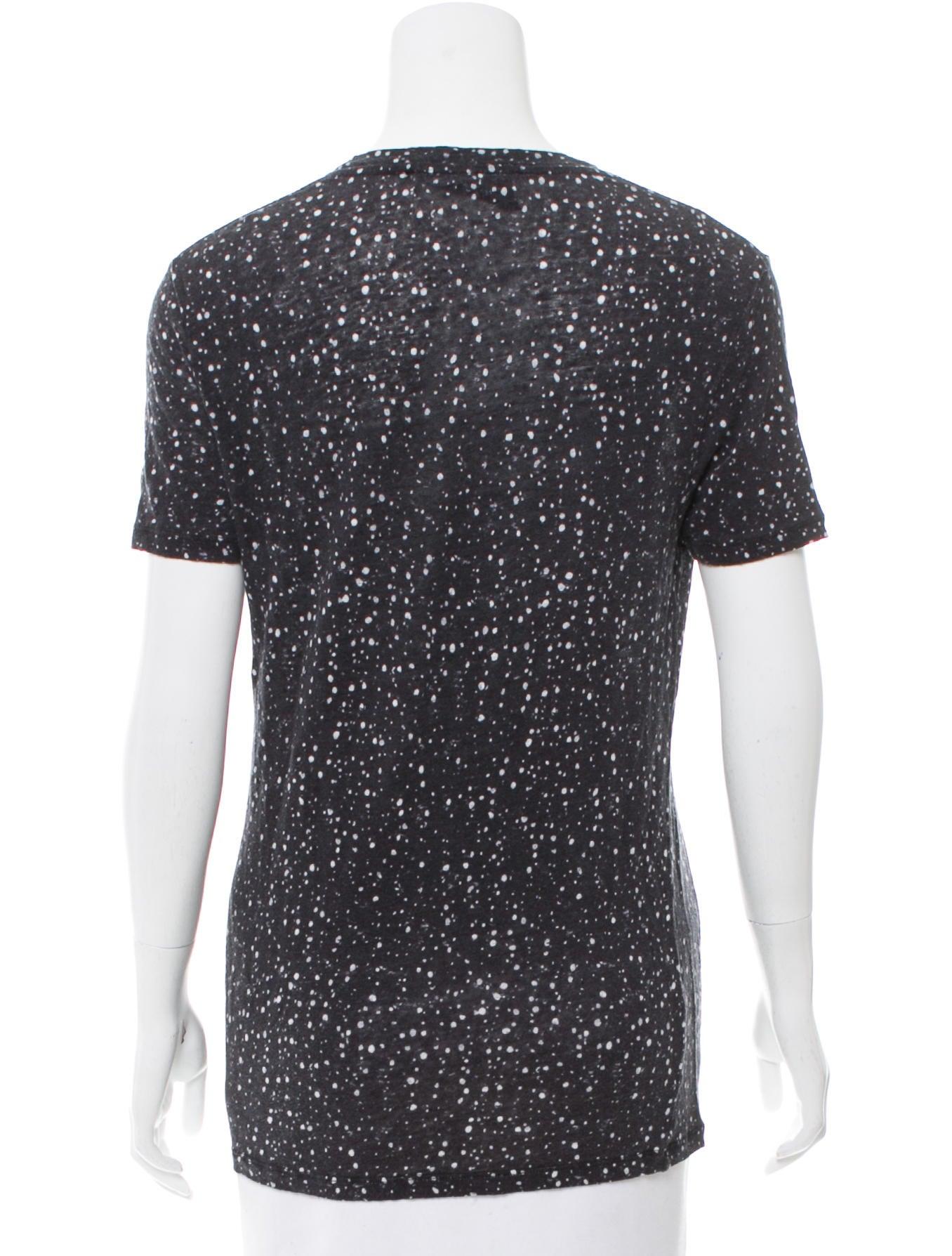 Iro Short Sleeve Printed T Shirt Clothing Wir32961