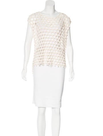 Iro Sleeveless Knit Top None