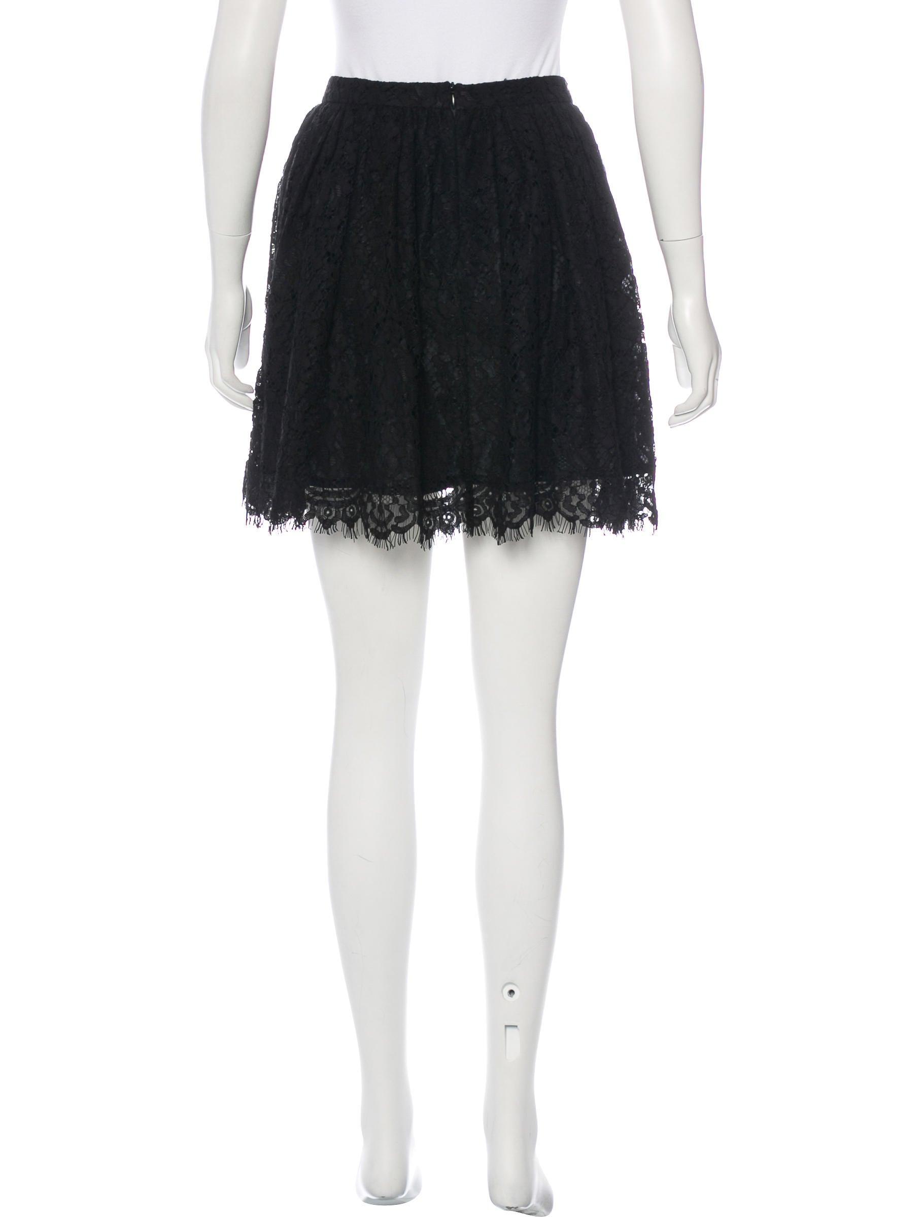iro lace a line skirt clothing wir33013 the realreal