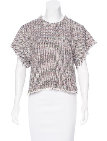Iro Short Sleeve Knit Top None