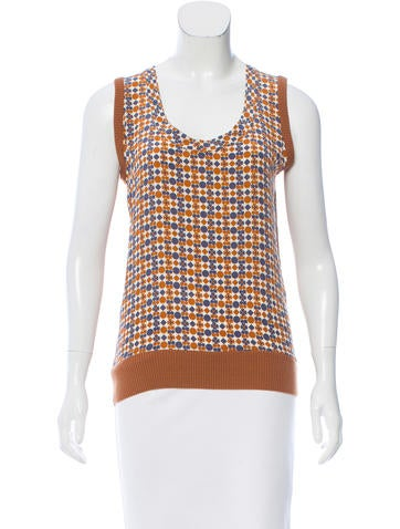 Iro Sleeveless Printed Top None