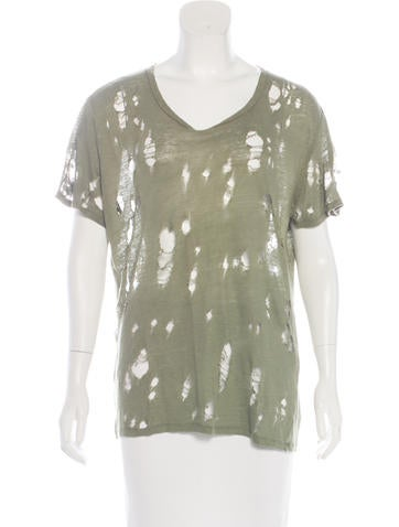 Iro Clay Linen T-Shirt None
