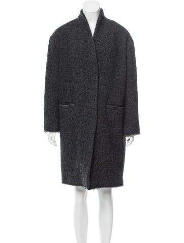 Iro Knit Oversize Coat None