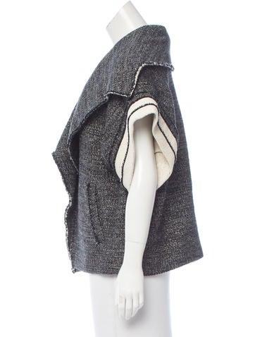 Iro Tweed Oversize Coat - Clothing - WIR34045 | The RealReal