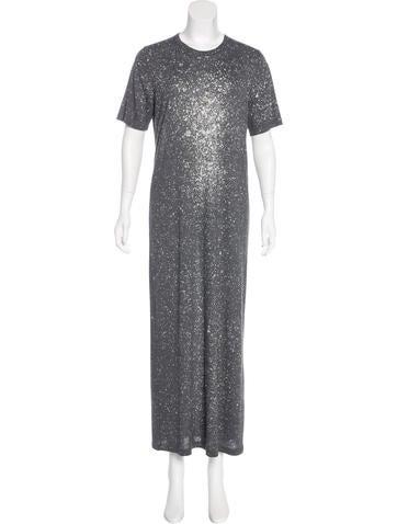 Iro Splatter Print Maxi Dress None