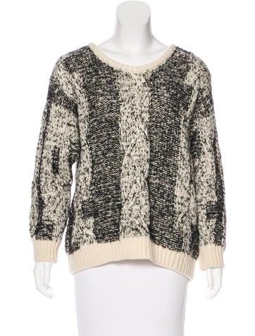 Iro Wool & Alpaca-Blend Knit Sweater None