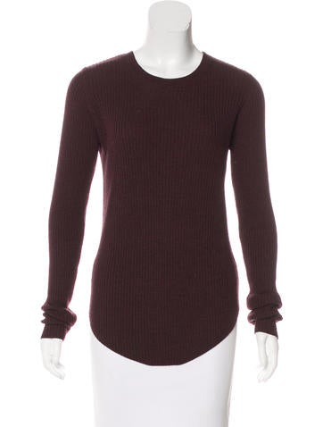 Iro Rib Knit Crew Neck Sweater None