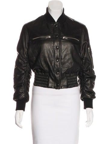 Iro Colombe Leather Jacket None