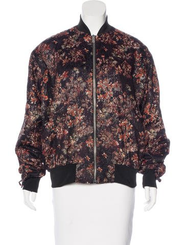 Iro Jacquard Bomber Jacket w/ Tags None