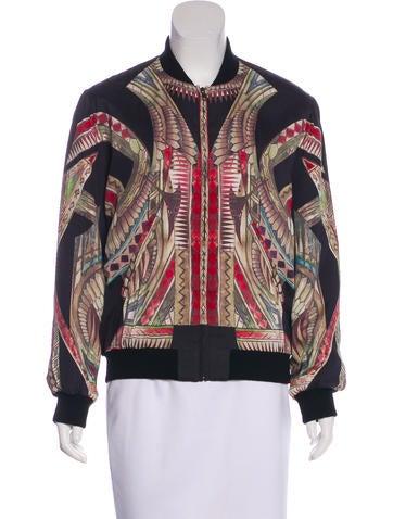 Iro Silk Bomber Jacket None