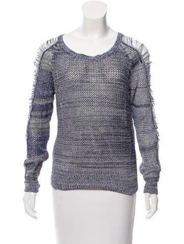 Iro Distressed Knit Sweater None