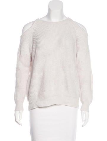 Iro Alpaca & Wool Cold-Shoulder Sweater None