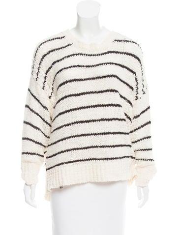 Iro Odessa Striped Sweater None