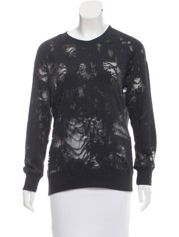 Iro Nona Distressed Sweatshirt None