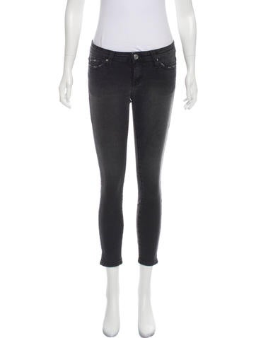 Iro Mid-Rise Cropped Jeans w/ Tags None
