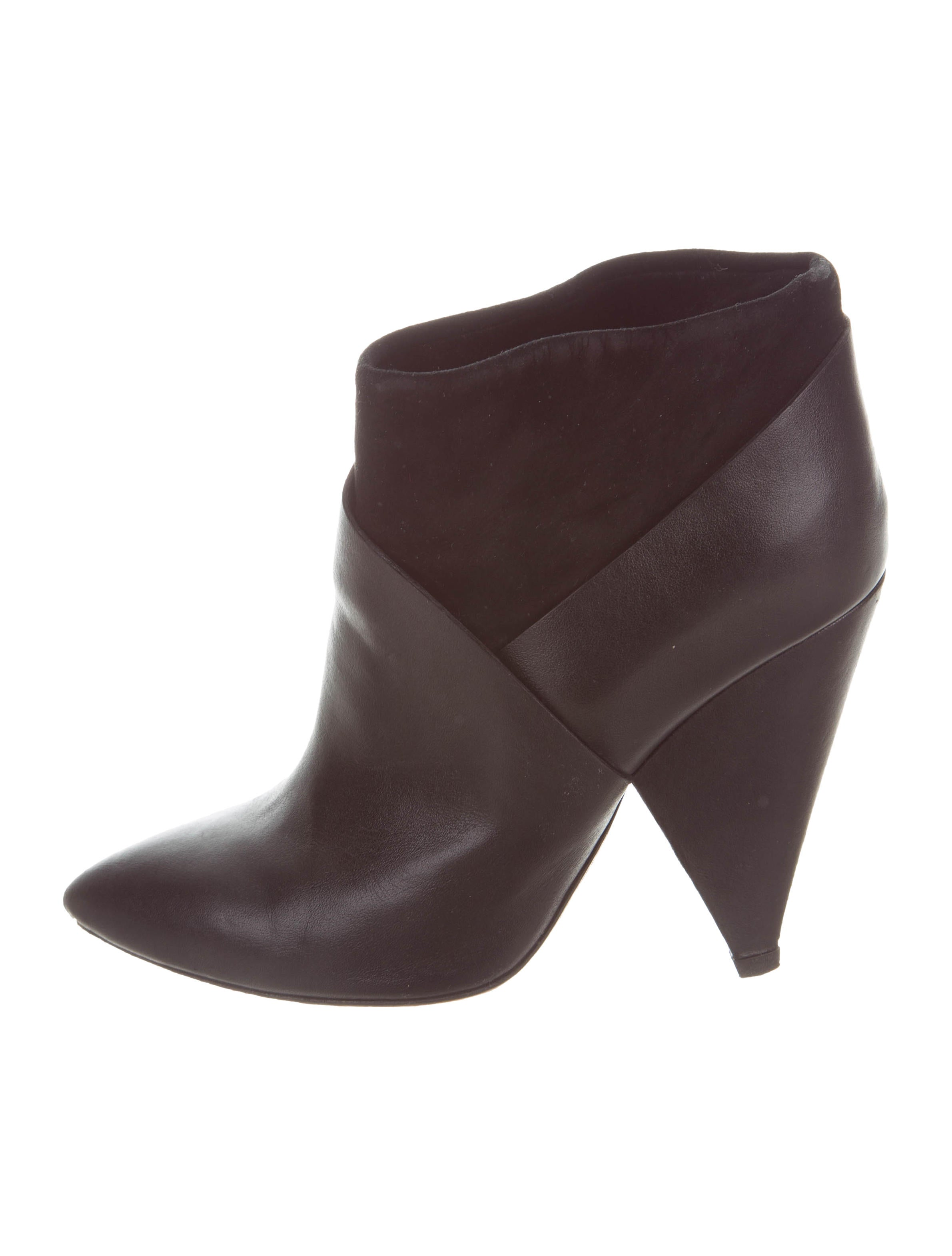cheap sale geniue stockist Iro Leather Pointed-Toe Boots cheap sale under $60 x48BEsuX