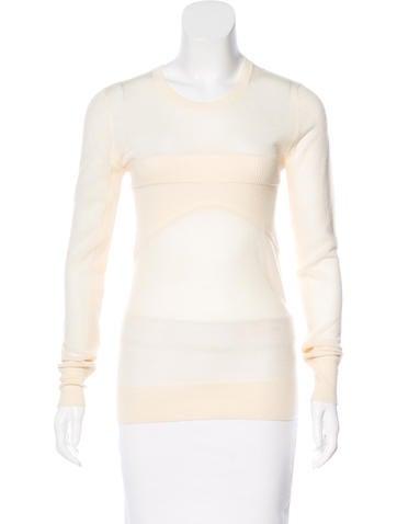 Iro Wool Long Sleeve Top None