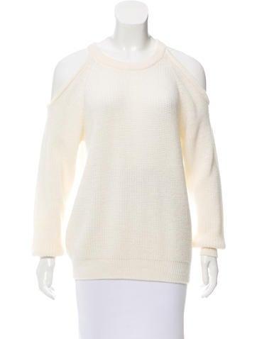 Iro Lineisy Cold-Shoulder Sweater None