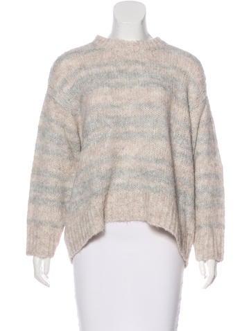 Iro Rib Knit Long Sleeve Sweater None
