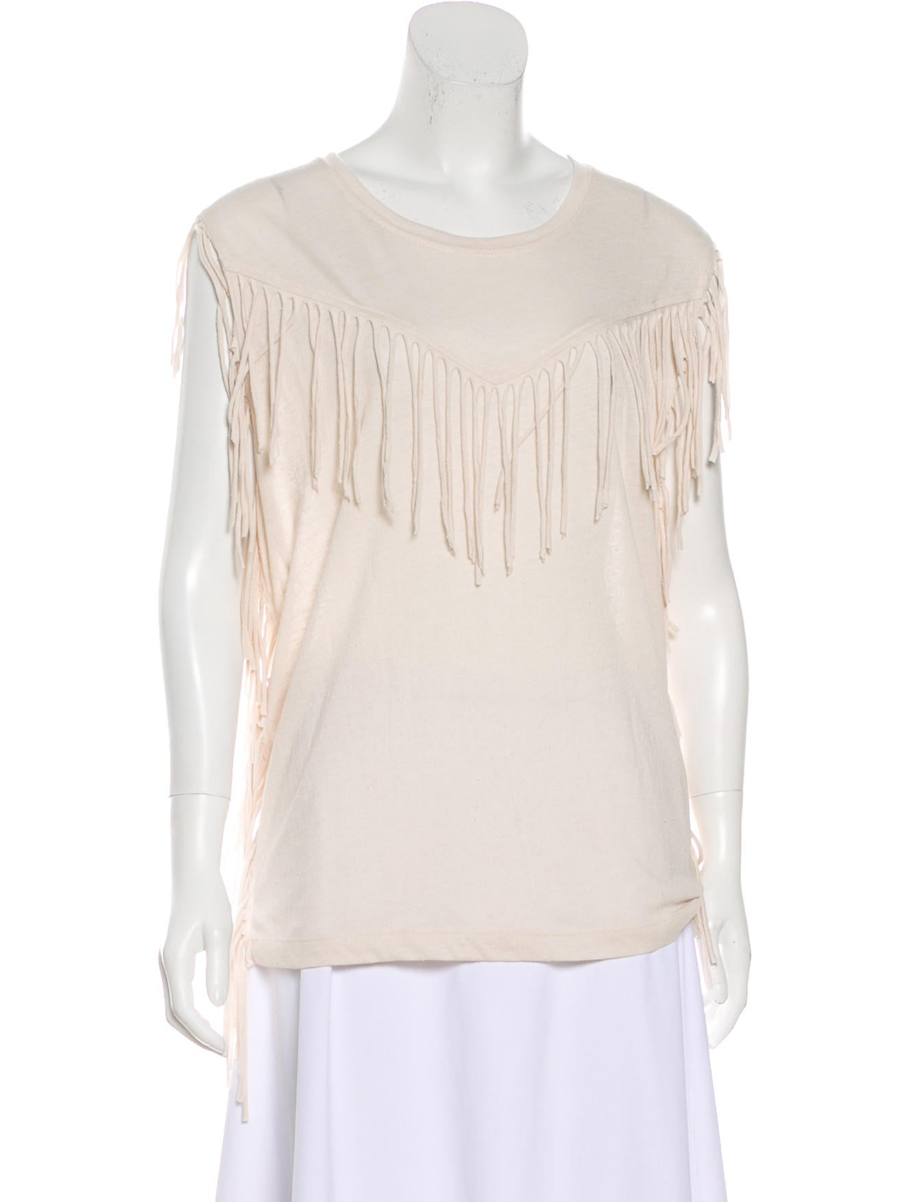 Iro Gise Fringe-Trim Top Free Shipping High Quality Browse For Sale Free Shipping Excellent Clearance Perfect Free Shipping 100% Authentic siTlABbxe
