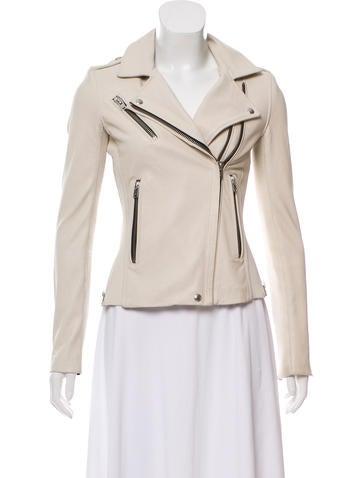 Iro Vika Leather Jacket None