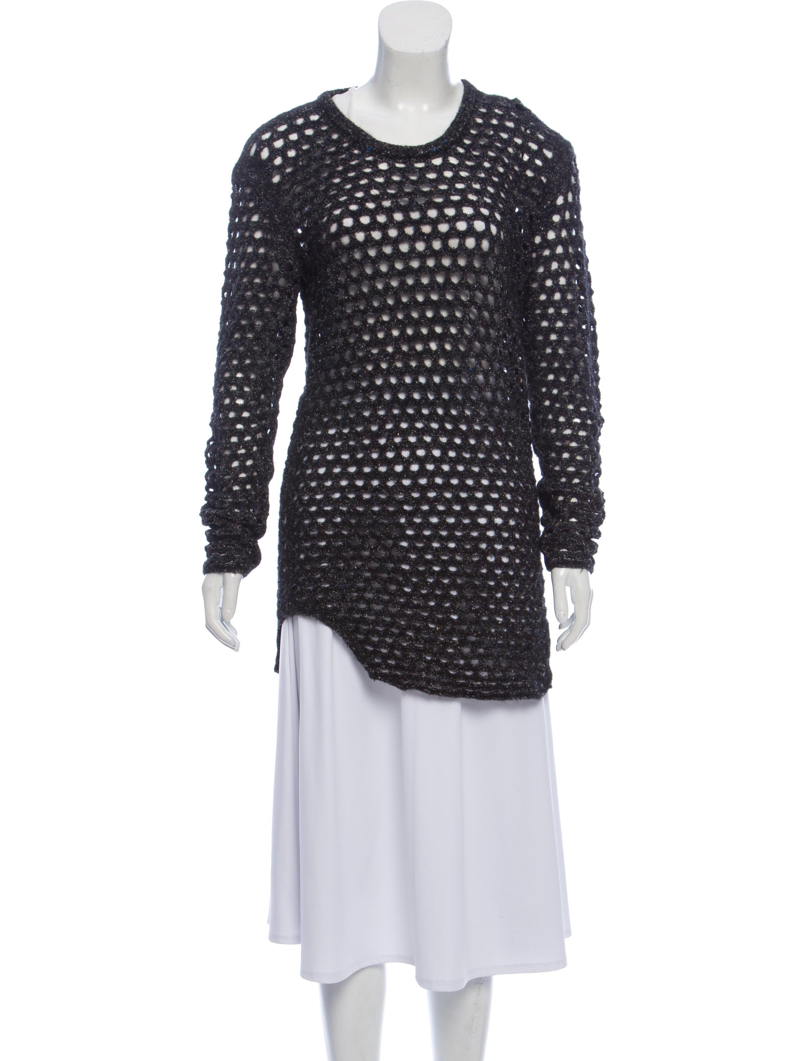 Realreal Clothing Wir48817The Dress Sweater Iro Open Knit qSUMVpz
