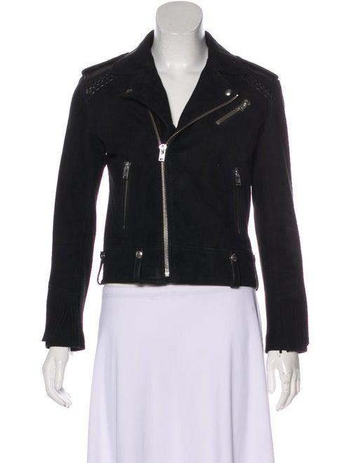 Leather Long Sleeve Jacket by Iro