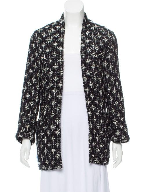Crocheted Printed Jacket by Iro