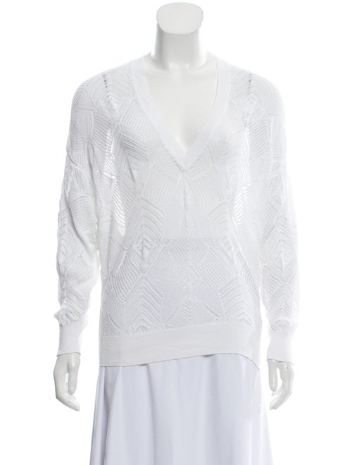 Iro Crochet Sweater White
