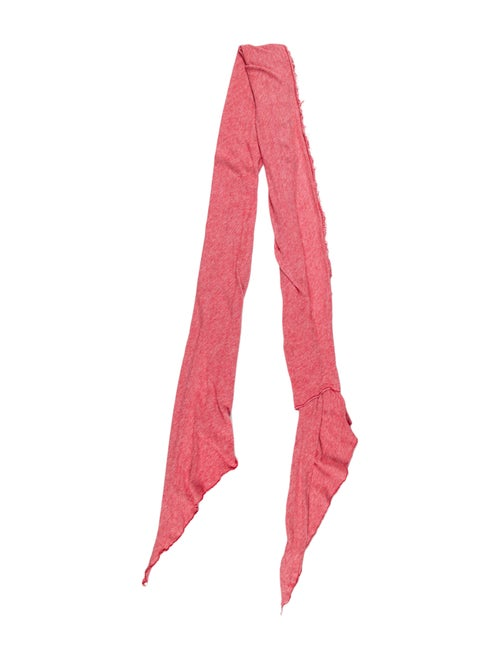 Iro Knit Scarf Red
