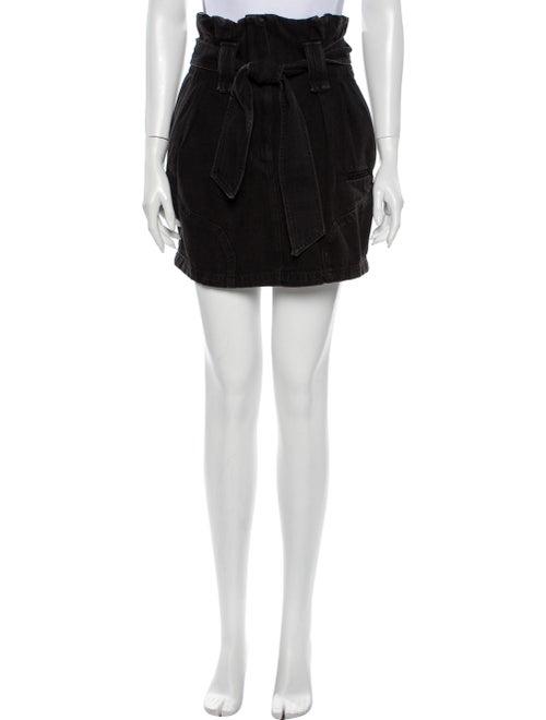 Iro Hovy Denim Mini Skirt Denim