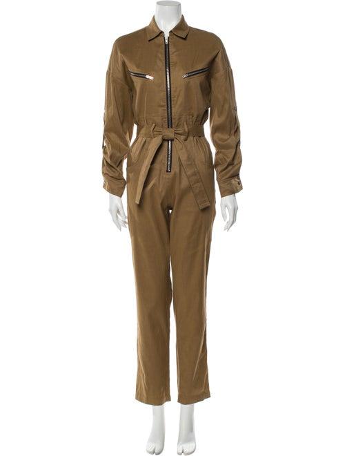 Iro Linen Jumpsuit w/ Tags Brown