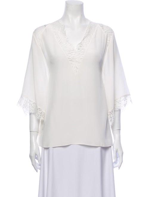 Iro Silk Blouse White