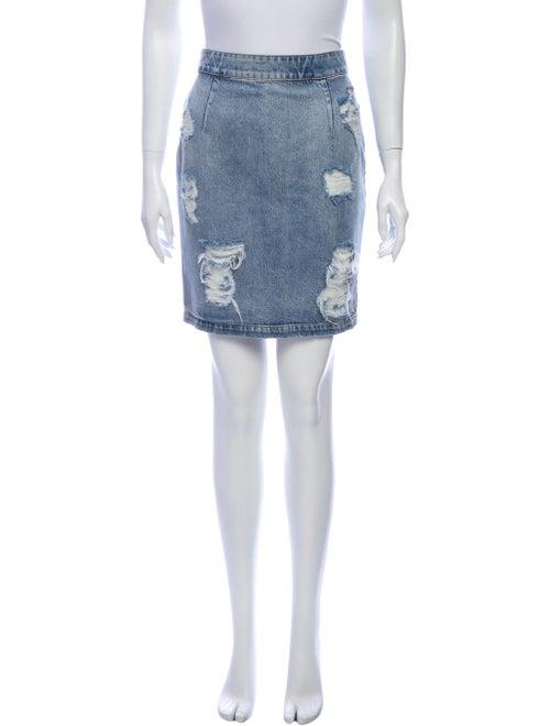 Iro Mini Skirt Blue