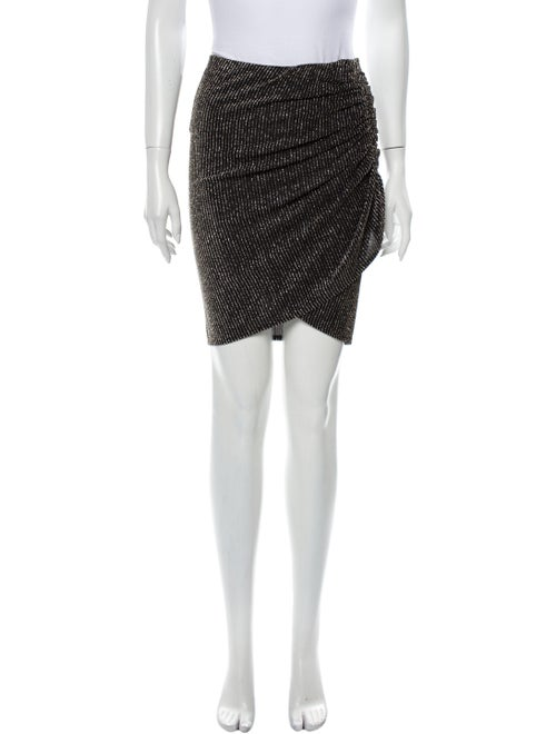 Iro Mini Skirt w/ Tags Black