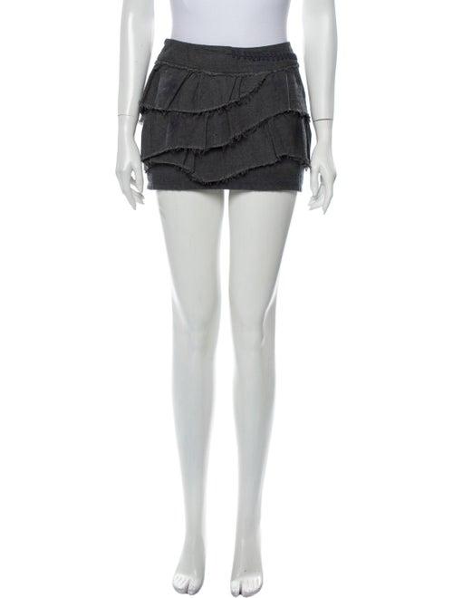 Iro Mini Skirt Grey