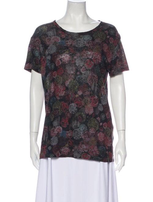 Iro Linen Printed T-Shirt