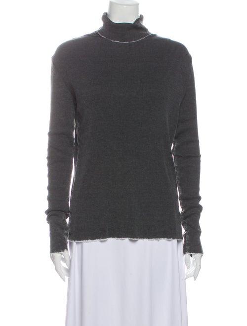Iro Turtleneck Long Sleeve Sweatshirt Grey
