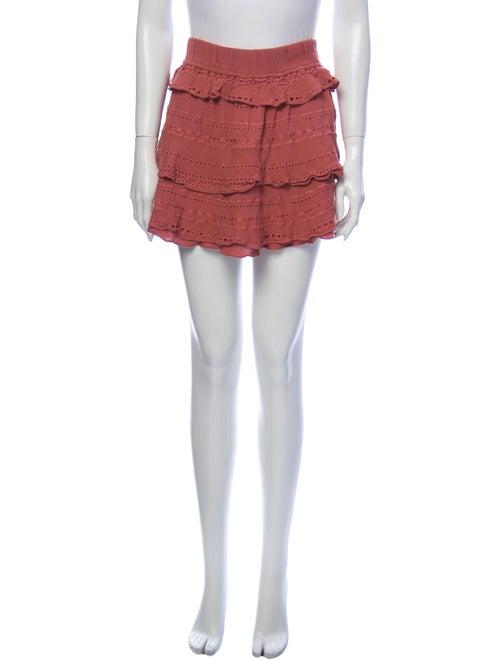 Iro Mini Skirt Pink