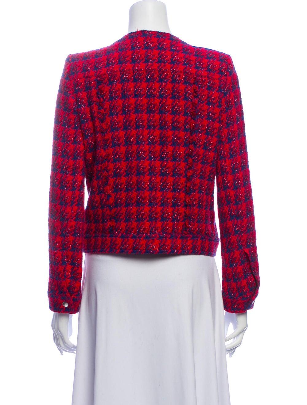 Iro Tweed Pattern Jacket - image 3