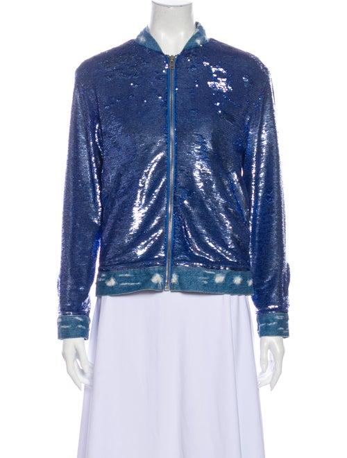 Iro Bomber Jacket Blue