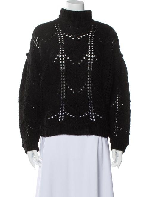 Iro Turtleneck Sweater Black