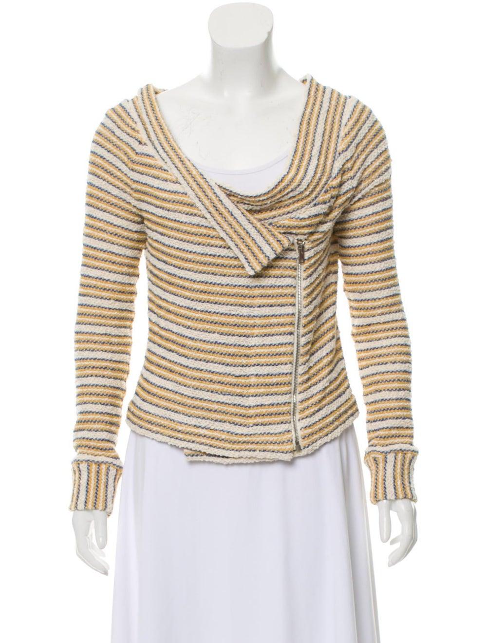 Iro Striped Tweed Jacket - image 1