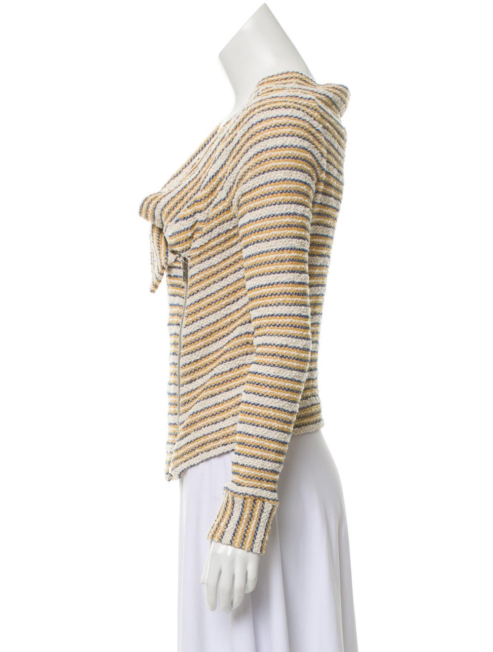 Iro Striped Tweed Jacket - image 2
