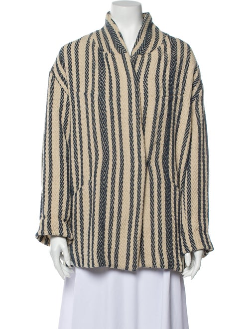 Iro Striped Jacket