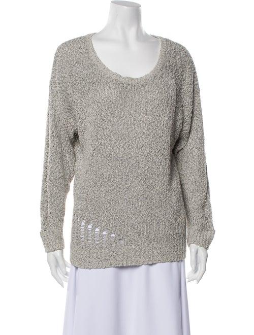 Iro Beatles Scoop Neck Sweater Grey