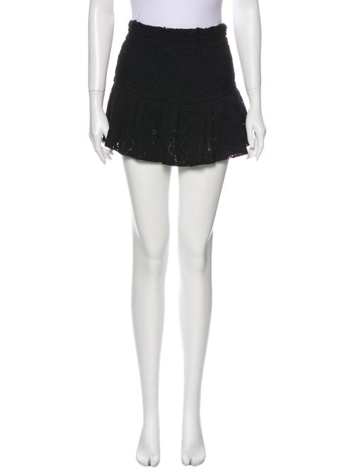 Iro Filen Mini Skirt Black